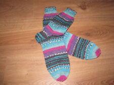 handgestrickte Socken Gr 38/39 aus Opal Sockenwolle