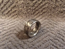 1964 Kennedy 90% Silver Half Dollars  size  9   coin ring  Handmade  #2