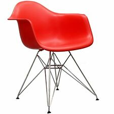 Red Armchairs For Sale | EBay