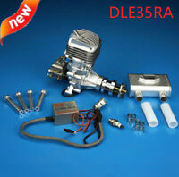 New DLE Gasoline Engine DLE35RA Rear Exhaust 35CC For RC Plane