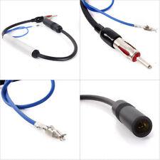 42CM Reino Unido 12V AM FM COCHE RADIO Amplificador de señal de antena Cable de alambre en línea aérea UK