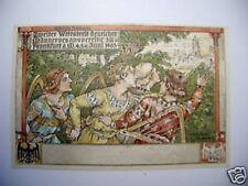 AK Frankfurt 1903 Wettstreit Männergesangverein Weizel