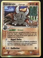 Carte Pokemon SCARABRUTE 9/101 HOLO Iles des DRAGONS Bloc EX FR