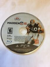 Madden NFL 12  - PS3 Sony PlayStation 3 game Disc Only