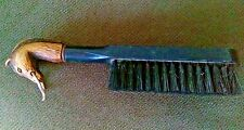 "Horse Head Shoe Brush or Barber Brush, Plastic, 7"""