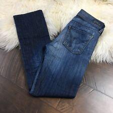 Citizens of Humanity Straight Leg Jeans Medium Distressed 1308B-132 Women's 24