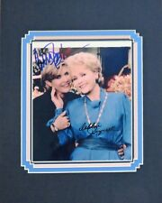 Autographed Star Wars Carrie Fisher and Her Mom Debbie Reynolds Matted Photo