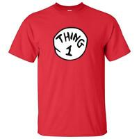 Dr Seuss Cat in The Hat Thing 1 2 3 4 5 Kids T-Shirt sizes  6 Month-XL 18-20
