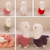 Cute Grass Mud Horse Llama Alpaca Sheep Fleece Stuffed Doll Plush Child Toy Gift