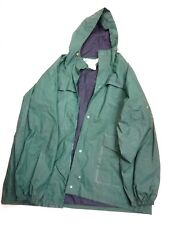 Columbia Sportswear Mens Rain Suit, Hooded Jacket and Pants Size XL, Green
