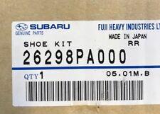 SUBARU REAR BRAKE SHOE REPAIR KIT 26298PA000