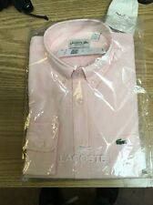 NWT LACOSTE MEN SHIRT Sz 38/S Regular Fit