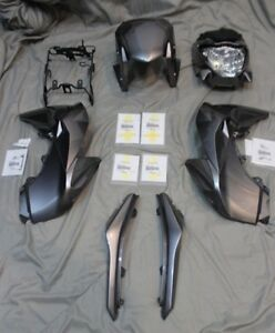 KAWASAKI Z125 pro OEM Stock plastics color Z125 Fairings (GRAY)
