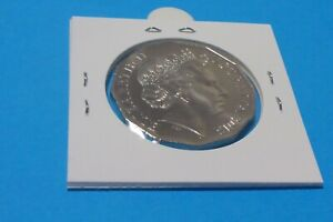 """2013 AUSTRALIA  50 CENT COIN ( UNCIRCULATED ) FRESH FROM A COIN ROLL """" SCARCE """""""