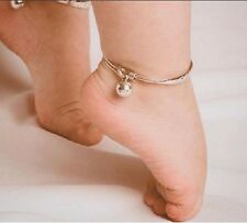 Adorable Baby Child Thai-Style Christening Anklets/Bracelets Sterling Silver 925