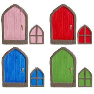 Fairy Door Hobbit, Pixie, Elf, Tree Garden Home Decor Ornament Skirting Board