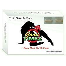 Good Timez - Male Sexual Enhancer, Sex Pill Sexpill, Dysfunction, Erectile