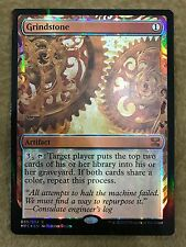 Foil Grindstone Masterpiece NM  MTG Magic Aether Revolt Inventions FREE SHIPPING