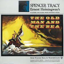 The old man & the sea Spencer Tracy movie poster print