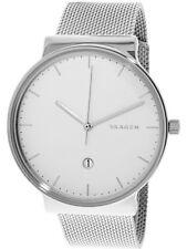 Skagen Men's Ancher SKW6290 Silver Stainless-Steel Japanese Quartz Fashion Watch