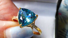 Blue Moonstruck Topaz Ring