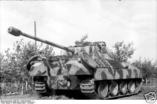 German Army Panzer Tank Russia 1943 World War 2 Reprint Photo 6x4 Inch