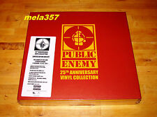 "Public Enemy 25th Anniversary 9 x 12"" Vinyl LP Collection LTD Box Set NEUF"