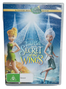 TinkerBell And The Secret Of The Wings (DVD, 2012)