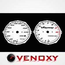 Honda XL 1000V Varadero 2003-2005 ohne ABS Tachoscheiben Tacho SCHWARZ