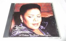 Freeman, Yvette Tribute to Dinah Washington CD Music Tested Buy It Now Clean