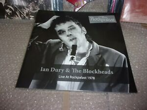 Ian Dury And The Blockheads Live At Rockpalast 1978 2 X LP Vinyl new sealed