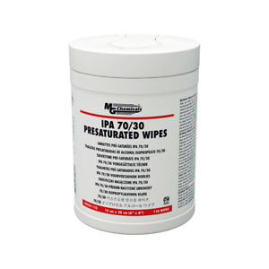 MG Chemical 8241-110 - Isopropyl Alcohol Wipes For Electronics