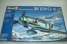 REVELL   MESSERSCHMITT Bf 109 G-6  1:32  scale  kit