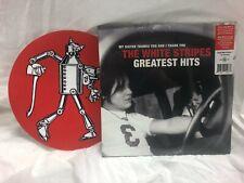 The White Stripes Greatest Hits Sealed Vinyl LP w Bonus Slip Mat free Shipping