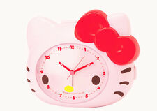 NEW AUTHENTIC SANRIO HELLO KITTY ALARM CLOCK wake up on time gift