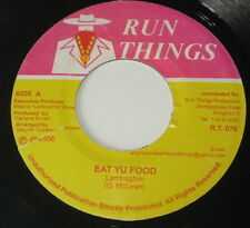"7""/JAMAICA/LAMBOGHINI/McLEAN/EAT YU FOOD/VERSION/QUICK PICK/Run Things"