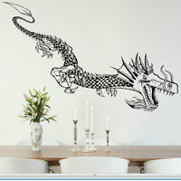 GIANT DRAGON HUGE Wall sticker decal transfer car giant stencil vinyl ra201