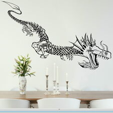 Giant Dragon - Large Chinese Wall Sticker / Wall Decal / Chinese Transfer ra201