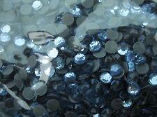 Rhinestone Hot Fix Iron on Heat Press SS20-5mm Glass Material Stone Lt Blue 1gr
