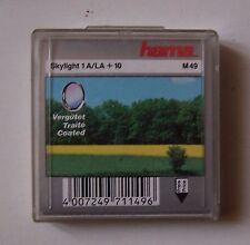 filtre HAMA SKY 1A (LA + 10) 49 mm