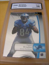 RYAN BROYLES LIONS 2012 TOPPS FINEST # 144 ROOKIE RC GRADED 10 L@@@K
