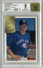 1997 Bowman Certified Autographs Roy Halladay Rookie Card BGS 10 Autograph