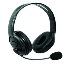 Xbox 360 Headset with Mute & Volume Black Microphone Online Games Multiplayer
