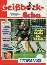 BL 91/92 1. FC Köln - Borussia Mönchengladbach