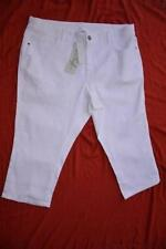 Cotton Blend Machine Washable Regular Capris, Cropped Pants for Women
