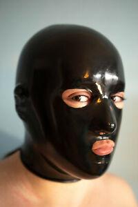 Anatomische Latex Gummi Maske 1,0 mm Stärke