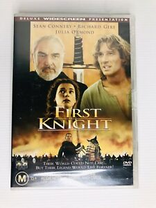 First Knight : New Old Australian Stock : NEW Sealed DVD *Rare OOP* Richard Gere