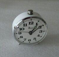 Pequeño Reloj Despertador Micro mecánico vintage clock Funcional