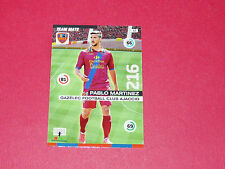MARTINEZ GAZELEC AJACCIO CORSICA FOOTBALL ADRENALYN CARD PANINI 2015-2016