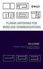 Planar Antennas for Wireless Communications by Kin-Lu Wong